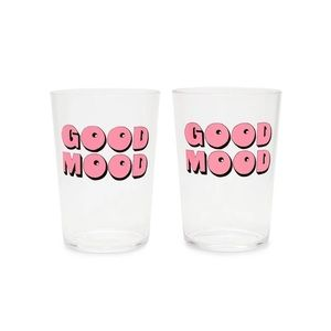 NWT Bando Good Times Acrylic Cocktail Glass Set